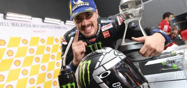 Maverick Vinales Victorious after Malaysian Masterclass