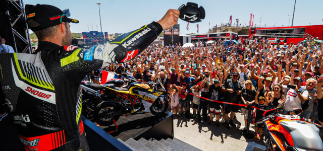 WorldSBK supports victims of Australian bushfires with charity auction