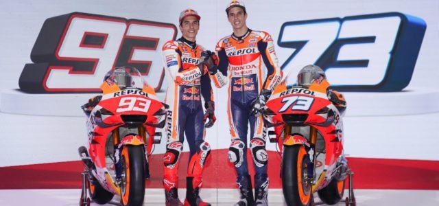 Marc Marquez & Alex Marquez at Repsol Honda Team 2020 launch in Indonesia