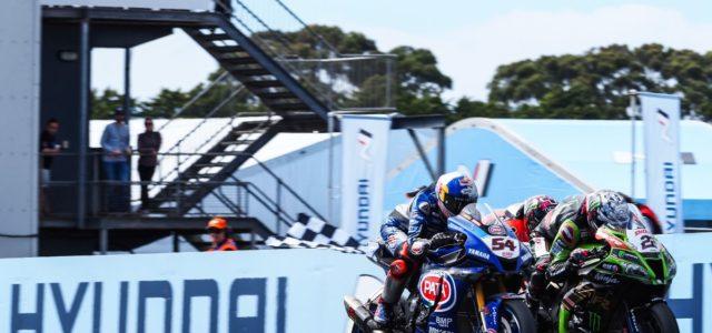 #AUSWorldSBK Saturday roundup – World Superbike, World Supersport