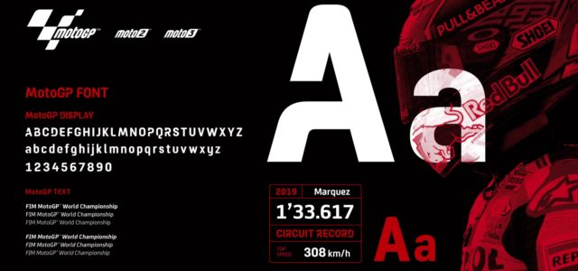 MotoGP gets slick new font design for 2020