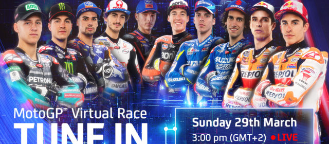 This weekend's MotoGP Virtual Race: everything you need to know! #StayAtHome