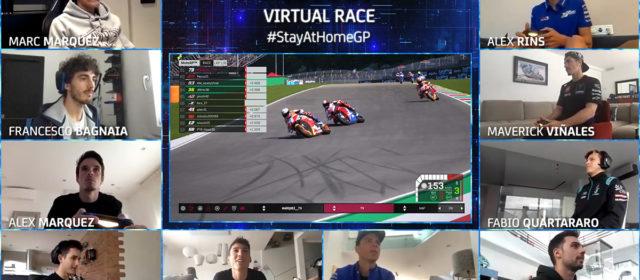 Alex Marquez wins the first ever MotoGP™ Virtual Race