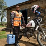 How Two Wheels for Life and motorcycles are helping to fight COVID-19 in Africa
