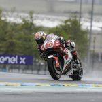 Taka takes 7th as rain plays havoc at #FrenchGP